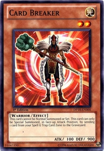 YuGiOh 5D's Card Game Duelist Pack Yusei Fudo 3 Single Card Common DP10-EN005 Card Breaker