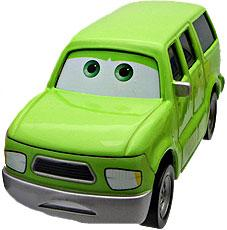 Charlie Cargo (Green SUV) LOOSE Disney / Pixar CARS Movie Sarge's Boot Camp 1:55 Die Cast Car