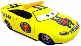 Charlie Checker LOOSE Disney / Pixar CARS Movie 1:55 Die Cast Car