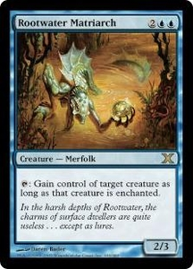 Magic the Gathering Tenth Edition Single Card Rare #103 Rootwater Matriarch
