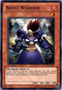 YuGiOh 5D's Card Game Duelist Pack Yusei Fudo 3 Single Card Super Rare DP10-EN012 Boost Warrior