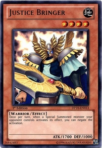 YuGiOh 5D's Card Game Duelist Pack Yusei Fudo 3 Single Card Ultra Rare DP10-EN013 Justice Bringer