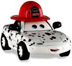 Dalmation Tia [GRU P 2] LOOSE Disney / Pixar CARS Movie 1:55 Die Cast Car