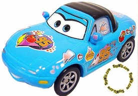 Dinoco Tia [Blue] LOOSE Disney / Pixar CARS Movie 1:55 Die Cast Car