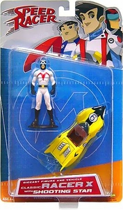 Speed Racer Art Asylum Die-Cast Series 1 Classic Racer X with Shooting Star