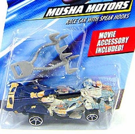 Speed Racer 1:64 Die Cast Hot Wheels Car Musha Motors Race Car with Spear Hooks