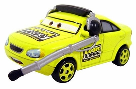 Earl Filter [Team Leak Less Crew Chief] LOOSE Disney / Pixar CARS Movie 1:55 Die Cast Car