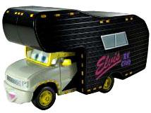 Elvis RV [Oversize] LOOSE Disney / Pixar CARS Movie 1:55 Die Cast Car