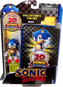 Sonic 20th Anniversary Action Figure Collector's Tin Set Sonic