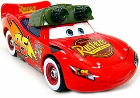 Night Vision Lightning McQueen LOOSE Disney / Pixar CARS Movie 1:55 Die Cast Car
