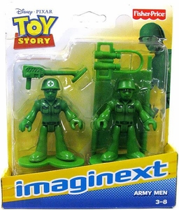 Imaginext Disney / Pixar Toy Story Figure 2-Pack Army Men