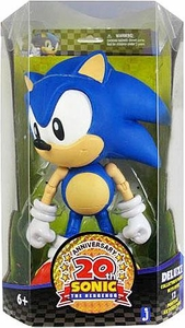 Sonic 20th Anniversary Exclusive 10 Inch Deluxe Action Figure 1991 Classic Sonic the Hedgehog