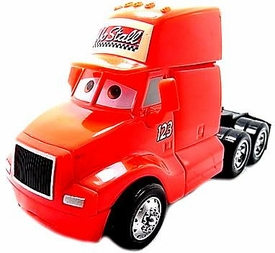 No Stall Semi [Oversize] LOOSE Disney / Pixar CARS Movie 1:55 Die Cast Car
