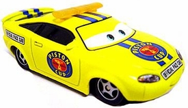 Piston Cup Pace Car [Charlie Checker] LOOSE Disney / Pixar CARS Movie 1:55 Die Cast Car