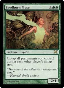 Magic the Gathering Tenth Edition Single Card Rare #296 Seedborn Muse