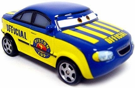 Race Official Tom LOOSE Disney / Pixar CARS Movie 1:55 Die Cast Car