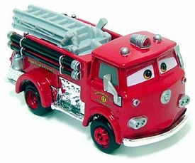 Red [Firetruck] LOOSE Disney / Pixar CARS Movie 1:55 Die Cast Car