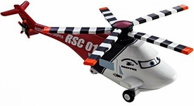 Rescue Squad Chopper LOOSE Disney / Pixar CARS Movie 1:55 Die Cast Car