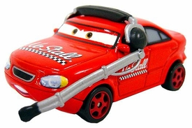 Roman Dunes [No Stall Crew Chief] LOOSE Disney / Pixar CARS Movie 1:55 Die Cast Car