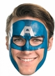 Captain America #11624 Face Tattoo