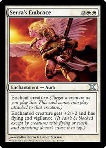 Magic the Gathering Tenth Edition Single Card Uncommon #40 Serra's Embrace