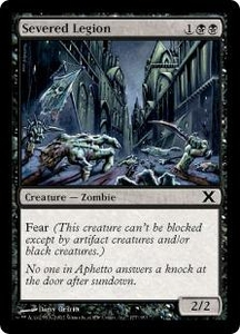 Magic the Gathering Tenth Edition Single Card Common #177 Severed Legion