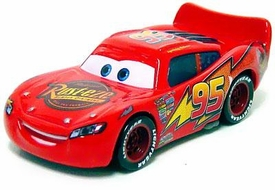 Lightning McQueen with Rubber Tires LOOSE Disney / Pixar CARS Movie Exclusive 1:55 Die Cast Car
