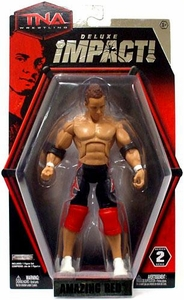 TNA Wrestling Deluxe Impact Series 2 Action Figure Amazing Red