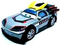 Kabuto LOOSE Disney / Pixar CARS Movie 1:55 Die Cast Car