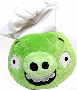 Angry Birds Pigs 6 Inch MINI Plush Figure Pig with Chef Hat