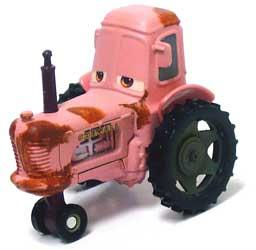 Tractor LOOSE Disney / Pixar CARS Movie 1:55 Die Cast Car