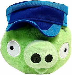 Angry Birds Pigs 6 Inch MINI Plush Figure Pig with Engineer Hat