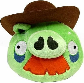 Angry Birds Pigs 6 Inch MINI Plush Figure Grandpa Pig with Cowboy Hat