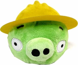Angry Birds Pigs 6 Inch MINI Plush Figure Pig with Construction Hat