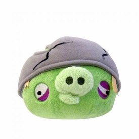 Angry Birds 5 Inch MINI Plush With Sound Helmet Pig