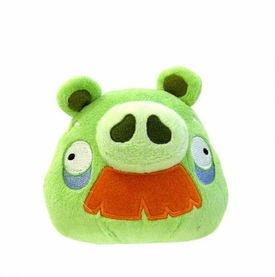 Angry Birds 5 Inch MINI Plush With Sound Grandpa Pig with Moustache