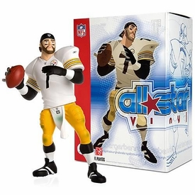 Upper Deck Authenticated All Star Vinyl Figure Ben Roethlisberger (White Away Jersey) Limited to 1500 Pieces BLOWOUT SALE!