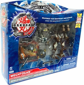 Bakugan Mechtanium Surge Diecast Mechtogan Extension Set Haos Deezall, Razenoid & 2 BakuNano BLOWOUT SALE!