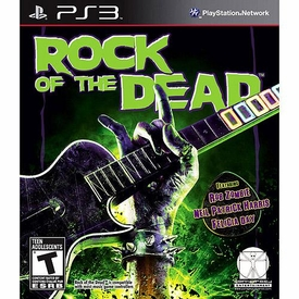 Sony Playstation 3 PS3 Video Game Rock Of The Dead