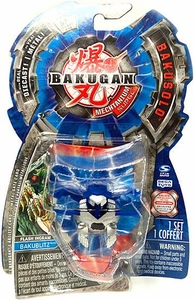 Bakugan Mechtanium Surge Diecast BakuSolo Aquos Flash Ingram
