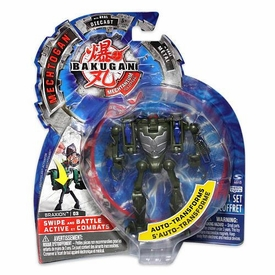 Bakugan Mechtogan Swipe & Battle Action Figure Braxion [Random Colors]
