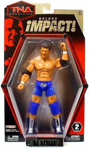 TNA Wrestling Deluxe Impact Series 2 Action Figure AJ Styles