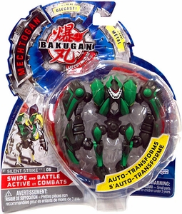 Bakugan Mechtogan Swipe & Battle Action Figure Silent Strike [Random Colors]