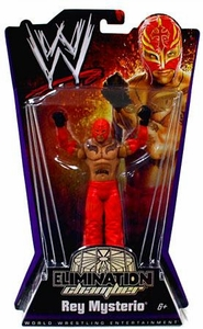 Mattel WWE Wrestling Elimination Chamber Series 1 Action Figure Rey Mysterio BLOWOUT SALE!