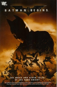 DC Comic Books Batman Batman Begins Movie Adaptation and Other Tales of the Dark Knight Trade Paperback