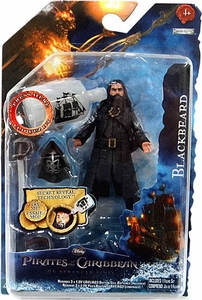 Pirates of the Caribbean On Stranger Tides 4 Inch Series 1 Action Figure Blackbeard [Version 1]