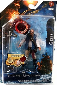 Pirates of the Caribbean On Stranger Tides 4 Inch Series 1 Action Figure Gibbs