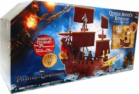 Jakks Pacific Pirates of the Caribbean On Stranger Tides Hero Ship Playset Queen Anne's Revenge