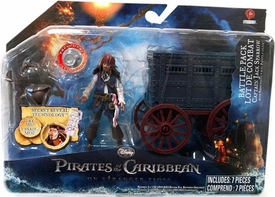 Pirates of the Caribbean On Stranger Tides Battle Pack Jack Sparrow [Paddy Wagon]