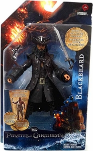 Pirates of the Caribbean On Stranger Tides 6 Inch Series 1 Action Figure Blackbeard